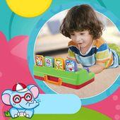 Interaktive Pop-up-Tiere Spielzeug Kleinkinder Baby lernen Entwicklung Spielzeug Kinder Elect … – Toys & Hobbies