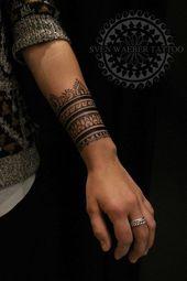 Bilder für Unterarm Henna Style Tattoo #Samoantattoos   – Tattoos