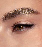 So schön ist Glitzer-Make-up I