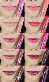 REVIEW: Revlon Kiss Cushion Lippentönungen Review – make-up produkte – #Cushion #Kis …   – Makeup Style