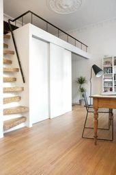 Originaltreppe für das Zwischengeschoss