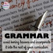 The Literary Maven: Grammar: Keep away from Boring Classes & Incorporate It Into The Relaxation Of Your Curriculum