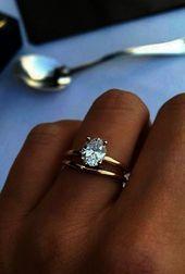 27 einfache Verlobungsringe für Mädchen, die klassische einfache Verlobungsrin…