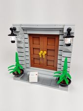 The Grand Entrance – Brickstogo – Lego Tricks and Techniques
