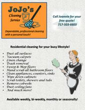 catchy cleaning service names