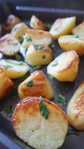 Papas veganas al horno | Green Brisa – Green Brisa Vegan Recipes -… – Papa …   – Patatas