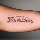 50 Best Cat Tattoo Designs For Men And Women #catt…