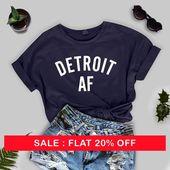 Weihnachten Detroit AF Tshirt – Michigan-Stolz, ich liebe Detroit, Mittleres Leben, Detroit-Mädchen, Bewegungsstadt-Hemden, Detroit-T-Shirts, Michigan-Hemden – t-shirt