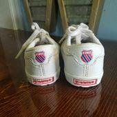 K-Swiss Schuhe | K-Swiss Baby White Sneakers Größe 3 | Farbe: Weiß | Größe: 3bb
