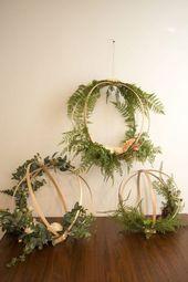 19 Times Flower Hoops Stole The Show | Mariage champêtre et éthique green #dre…