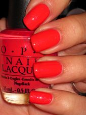 OPI – I Eat Mainely Lobster