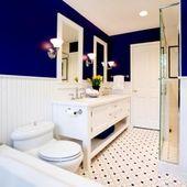 Royal Blue Blue Bathroom Ideas Bathroom Ideas Pinterest Vanities Online Bathroom Furniture And Italian Bathroom