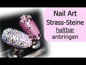 So halten Strass-Steine garantiert!!! / Nailart / Nagelmodellage – YouTube