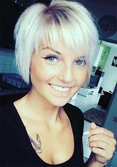 Side-Bangs Best Pics of Layered Short Hair for Rou…