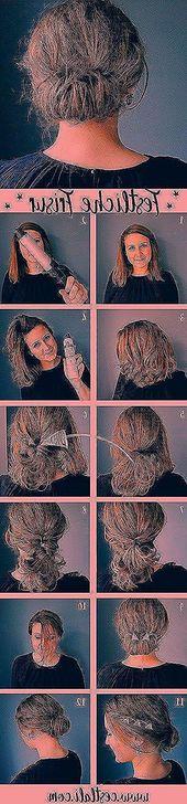 Festive hairstyles for shoulder-length hair #dutt #simple #wedding #mid-length Festive hairstyles for shoulder-length hair #dutt