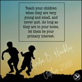 7 Issues President Gordon B. Hinckley Inspired Mom's to Train Their Little one…