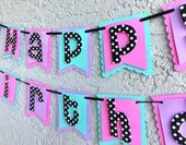 Birthday Banner Cricut Polka Dots 60 Ideas – Birthday party ideas