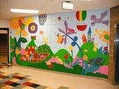 8 Best English School   Wall Art Images On Pinterest | School Murals, Mural  Ideas And School Gardens Part 37