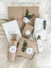 Die Grundlagen erneut betrachten: Stilvolle Möglichkeiten, Geschenke in braunes Papier einzuwickeln
