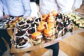Easy summer outdoor wedding reception food ideas photos