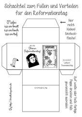 Luther / Halloween basteln / ausmalen – luther