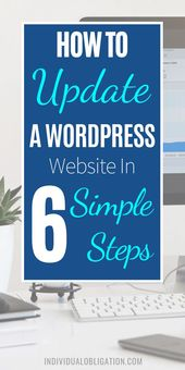 How To Update A WordPress Website In 6 Simple Steps