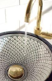 Waschbecken Schüssel Glasbehälter Stil 39+ Ideen