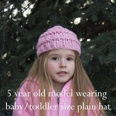 Mädchen chaotisch Brötchen Mütze, Pferdeschwanz Hut, klobige Wintermütze   – Beanies & Hats