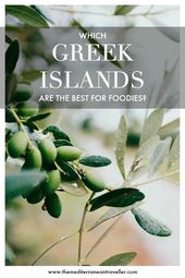 The 10 Finest Greek Islands for Meals annd Wine