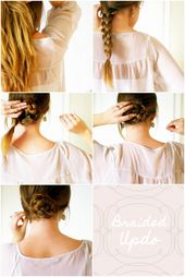 How-To: Braided Updo