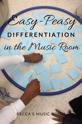 Straightforward-Peasy Differentiation within the Music Room