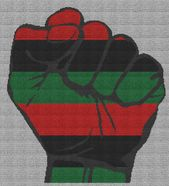 Black Pride Fist Pan African Flag Single Crochet Written Graphghan Pattern 03 234x257 Yarnloveaffair Com African Flag Single Crochet Crochet