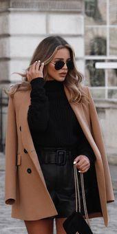 27+ einfache Winteroutfits zum einfachen Anziehen. Stil Inspiration Winter – KatiaKorchounov – Mode Ideen, Mode und Outfit Ideen