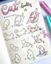 Wie zeichnet man eine Katze