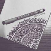 40 Ideen und Inspirationen für wunderschöne Mandala-Zeichnungen · Brighter Craft