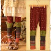 2014 spring pants colorant match skinny legging trousers  mori lady de la boutique en ligne | Aliexpress cellular