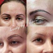 #beautybyarmine #beauty #eyebrows #microblading #m…