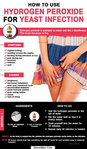 How To Treat Yeast Infection With Hydrogen Peroxide? 1