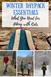Les essentiels du sac de jour d'hiver: ce dont vous avez besoin pour faire de la randonnée avec des enfants  – Camping Gear and Gadgets