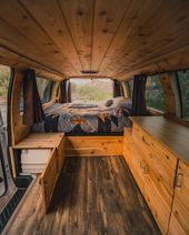 $35,000 Boho woody camper vans get you on the road…