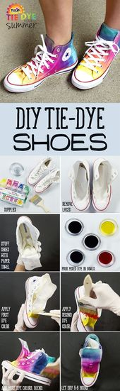 12 Creative DIY Ideas To Upgrade Your Sneakers