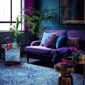 Ultra Violet: So stylt ihr die Trendfarbe 2018 in eurer Wohnung!