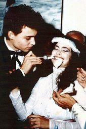 Johnny Depp His Wife Lori Anne Allison Getting Married Johnny Depp Johnny Depp Girlfriend Young Johnny Depp