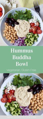 d3db1341a021219dbe45e68b0b24efb2 Hummus Buddha Bowl  #salad #buddhabowl #powerbowl #lunch #mealprep