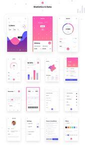 Rodman Mobile UI Kit en Behance   – app