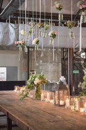 Wunderschöne Tischdekoration #hochzeit #hochzeitseinladung #weddinghero #hochzeitskarte