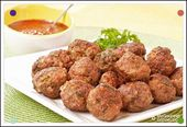 Mexican-Spiced Cocktail Meatballs With Dipping Sauce