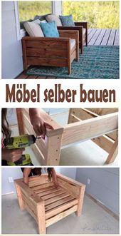 Möbel selber bauen – kostenlose Bauanleitung & Baupläne