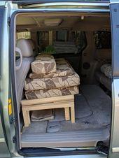Umbaupläne für Toyota Sienna Campervan mit Küche und Bett   – Minivan camper conversion