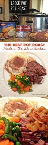Favorite Pot Roast Recipe – Made In The Crock Pot  – crock pot